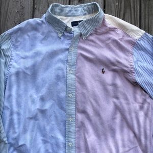 Polo by Ralph Lauren Multicolor Button Down XXL